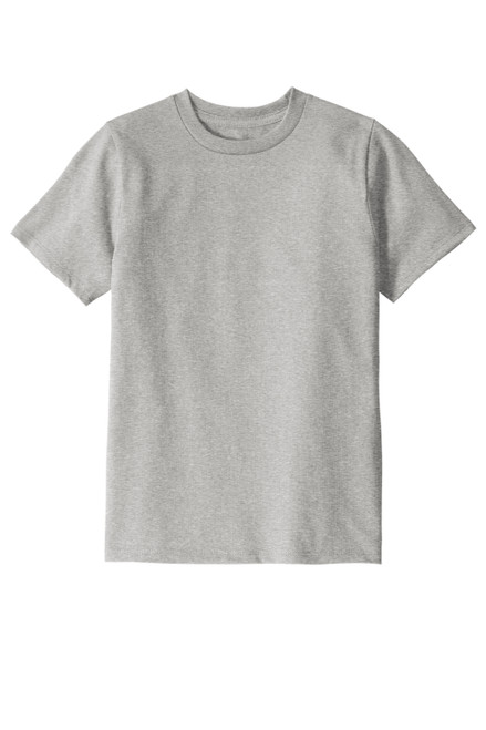 Light Grey Heather District® Youth Re-Tee®