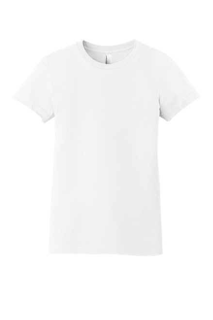 White American Apparel ® Women's Fine Jersey T-Shirt