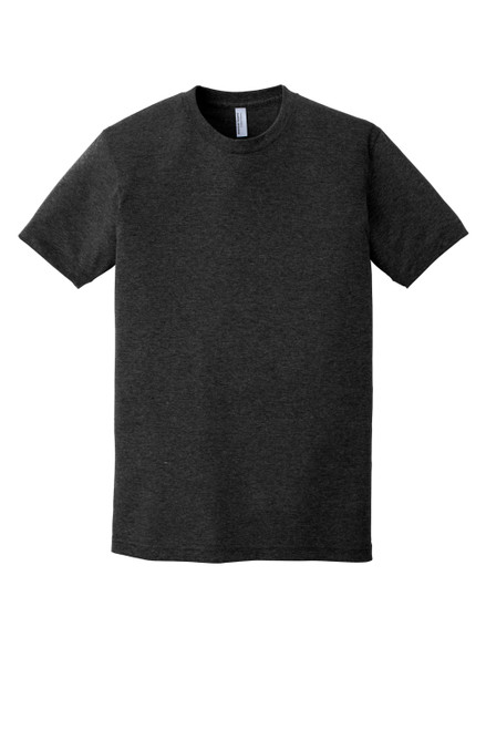 Tri Black American Apparel ® Tri-Blend Short Sleeve Track T-Shirt