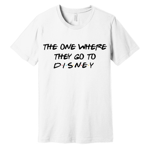 The One Where They Go To Disney