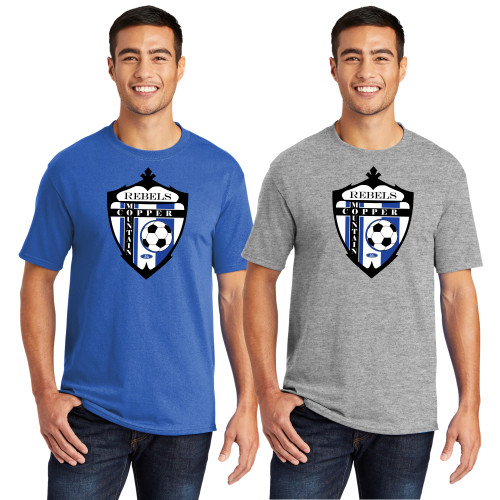 Rebel's Soccer Team Cotton Tee Adult/Youth