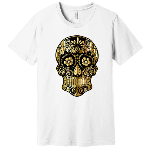 Black & Gold Day of the Dead