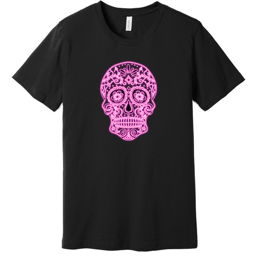 Day of the Dead Neon Tee