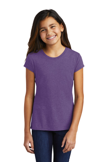 Purple Frost District Girls Perfect Tri Tee