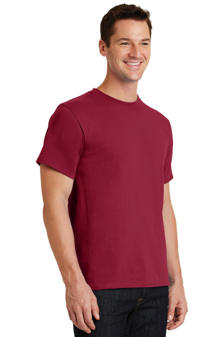 Rich Red Port & Company Essential Tee