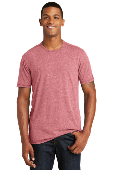 Crimson New Era Tri-Blend Performance Crew Tee