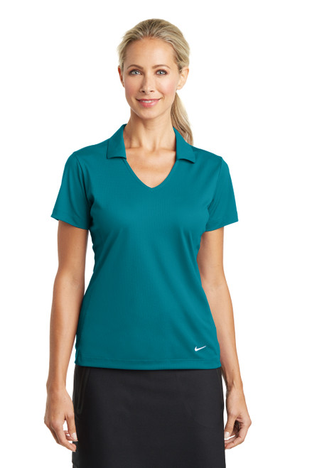 Blustery Nike Ladies Dri-FIT Vertical Mesh Polo