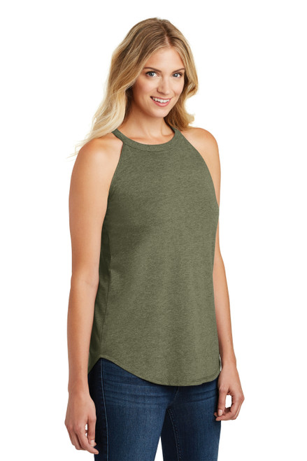 Military Frost District Women's Perfect Tri Rocker Tank