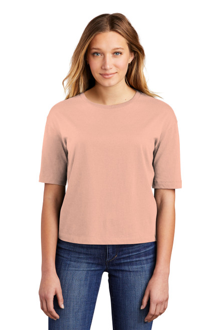 Dusty Peach District Women's V.I.T. Boxy Tee