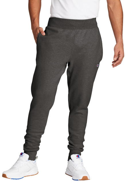 Charcoal Heather Champion Reverse Weave Jogger