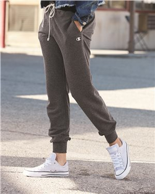 Charcoal Heather Champion Originals Women's French Terry Jogger