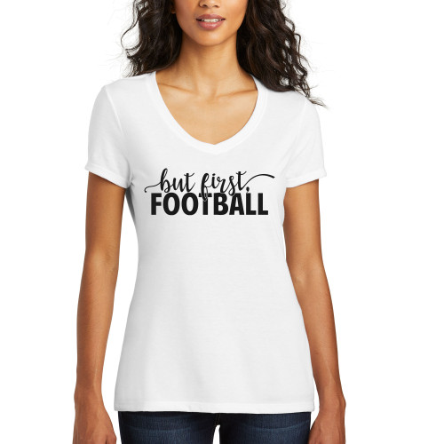 White But First, Football