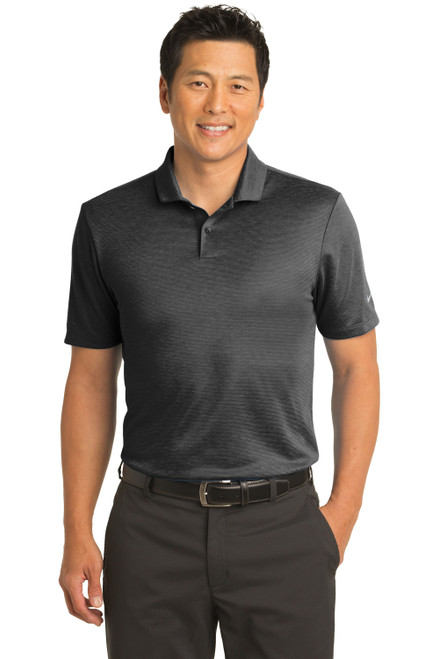 Black Nike Dri-FIT Prime Polo
