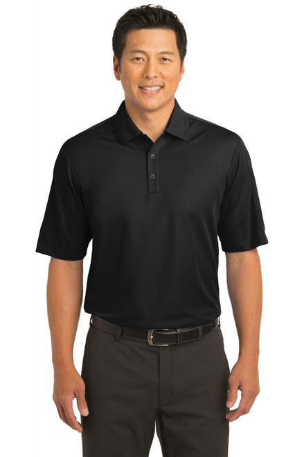 Black Nike Tech Sport Dri-FIT Polo