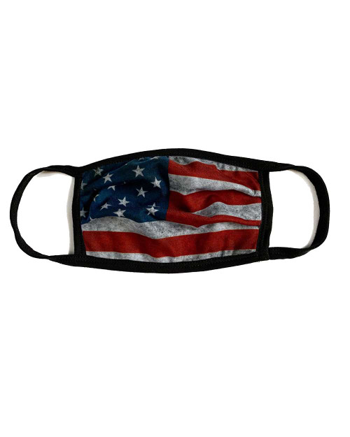 American Flag Maverick USA Made Comfort Face Masks