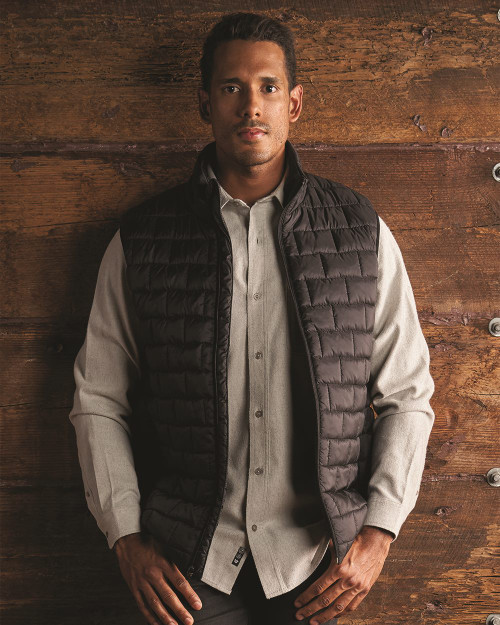 Black Burnside Elemental Puffer Vest