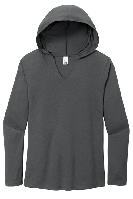 Charcoal District Women's Perfect Tri Long Sleeve Hoodie