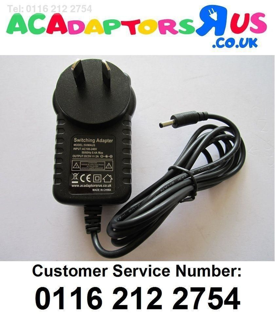 582146731d3 ... adaptor; Replacement power supply for 5V Saitek PZ44 Pro Flight Yoke;  aus 5v mains ac-dc ...