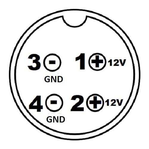 5a 4 Pin Din Ac Dc Adaptor Power Supply Eu
