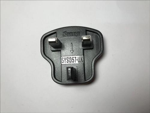 Genuine Sunny SYS1357-UK Country Slide Attachment Adaptor ENGLISH Plug