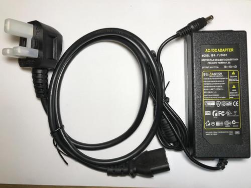 36V 2A 36.0V 2000mA Desktop AC-DC Switching Adaptor Power Supply 5.5mm UK PLUG