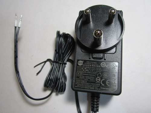 Indian 12V 1.5A 1500mA AC-DC Switching Power Supply Adaptor 2 Bare End Wires