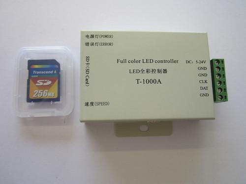 Full Colour LED Strip SD Card Controller for Light Vision Curtain 5V-24V 4 Speed