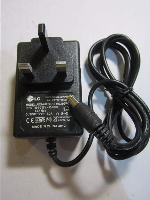 Replacement for LG ADS-40SG-19-3 19025G Switching Power Supply AC Adaptor