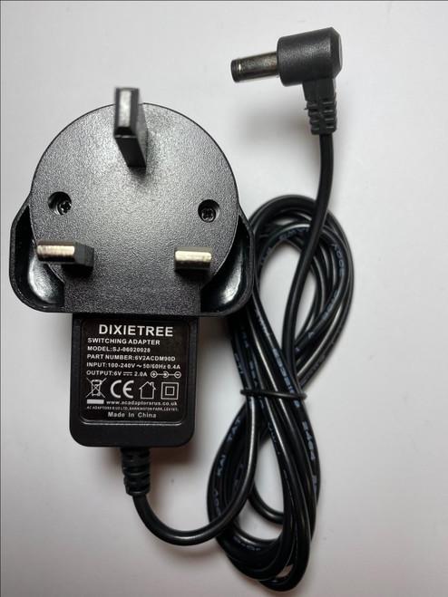 Replacement for 6V 1200mA KA12D060120044U AC ADAPTOR USA 4 Mr Christmas Jukebox