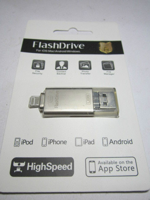 64GB Flash Drive USB Memory Stick for Apple iPhone/iPad/iPod/Android iStick  App
