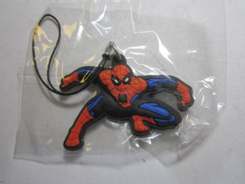 BIP Holland BV 1111 Leaning Spiderman Phone / Bag Charm Keyring Key Ring