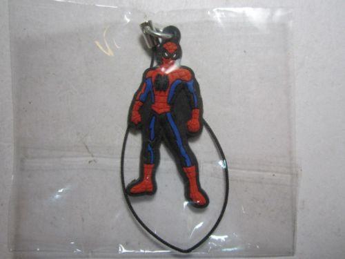 BIP Holland BV 1111 Crouching Spiderman Phone / Bag Charm Keyring Key Ring