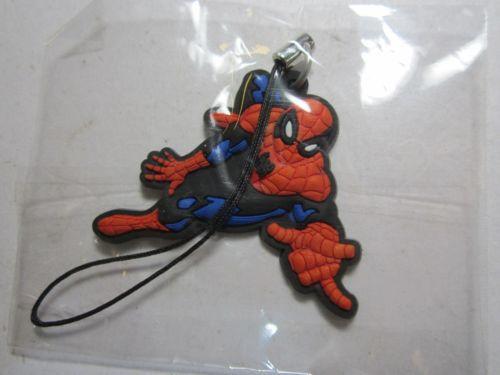 BIP Holland BV 1111 Flying Spiderman Phone / Bag Charm Keyring Key Ring