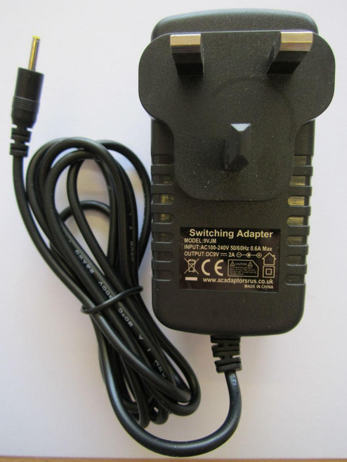 "10 INCH 10"" TABLET WM8650 MID 2.2 ANDROID LA-915 9V AC ADAPTOR POWER SUPPLY"