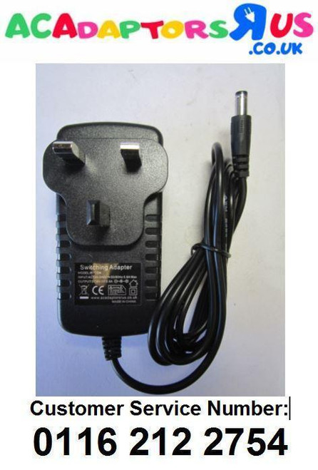Replacement for 8V 0.75A Mains AC-DC Power Supply for Bush CDAB51RS DAB Radio