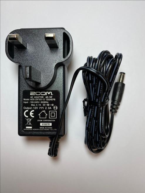 12V AC-DC Power Adaptor Western Digital WD EXTERNAL HARD DRIVE WDBAAU0010HBK-00