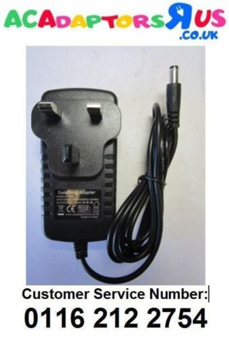 Replacement for 8V 200mA AC Adaptor for THOMSON WHP3001BK WIRELESS HEADPHONES