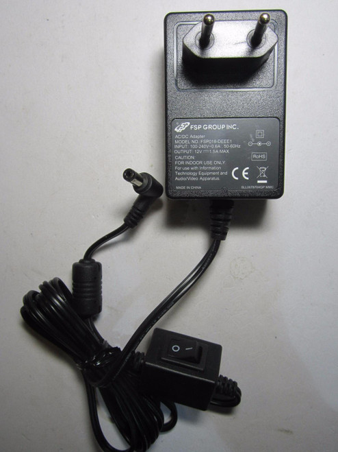 EU Plug 12V 1.5A Ac Adaptor Power Supply 4 Casio WK-1200 Electronic Keyboard
