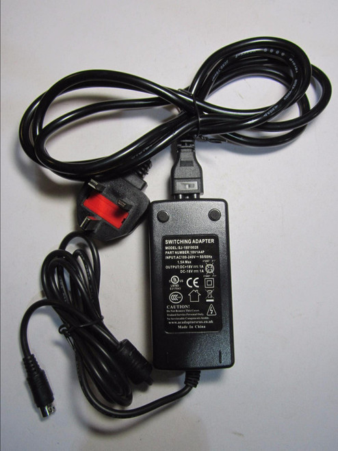 Replacement 18V AC-DC Adaptor Power Supply for Klipsch iGroove HG Model 1007031