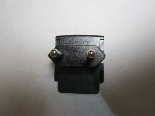EU 2 Pin Country Slide Plug for 12V 1500mA Switching Power Supply S018RM1200150
