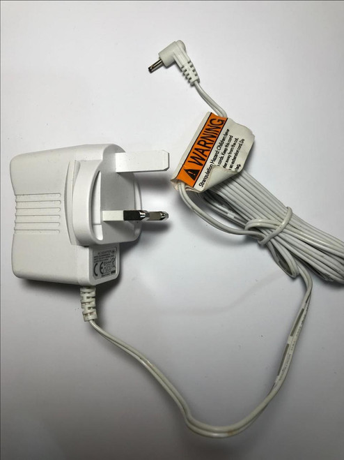 White 6V 500mA AC Adapter Charger for Motorola MBP36 MBP-36 Parent Baby Monitor