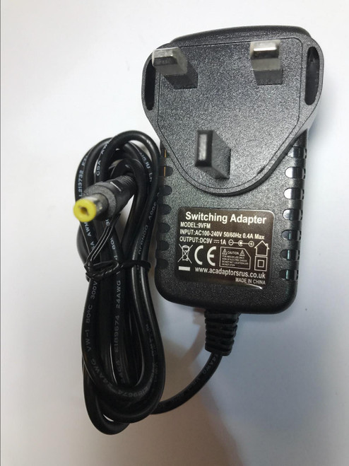 Sony DAB Radio XDR-S7 XDRS7 9V AC-DC Switching Adapter Charger UK Plug