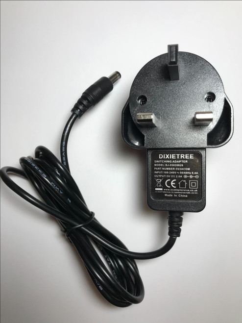Logitech Squeezebox Classic 5V Mains AC-DC Switching Adapter Charger New