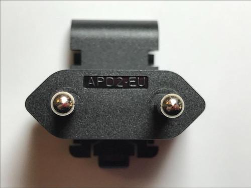 EU Slide Attachment Plug for APD Asian Power Devices 5V 3A WA-15I05R APD2-EU