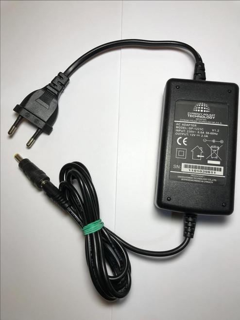 EU 12V MEDION E83741 E85015 EXTERNAL HARD DRIVE AC ADAPTOR POWER SUPPLY