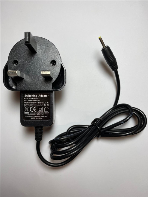 "6V Mains AC Adaptor for Motorola Digital 1.5"" Colour Video Audio Monitor (MBP20)"