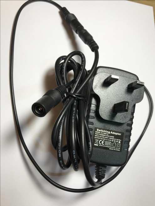 Replacement for JT-DC31V12W Power Supply 31V 12W AC-DC Adaptor UK Plug