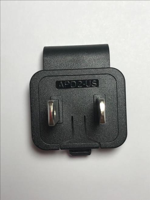 USA Slide Attachment Plug for APD AC ADAPTER 12V 2.5A WA-30J12R