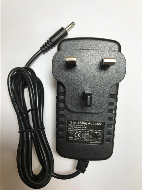 9V AC Adaptor Power Supply for Binatone Terrain 750 2 Way Radios Walkie Talkies