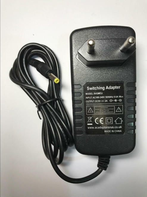 Acoustic Solutions DVD-293 DVD293 Portable DVD Player Mains Charger AC Adaptor
